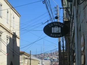Hostel in Valparaiso, Chile