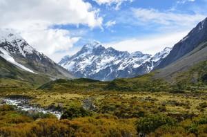 Aoraki Mountain in Neuseeland