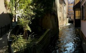 Augsburger Gassen und Flüsse