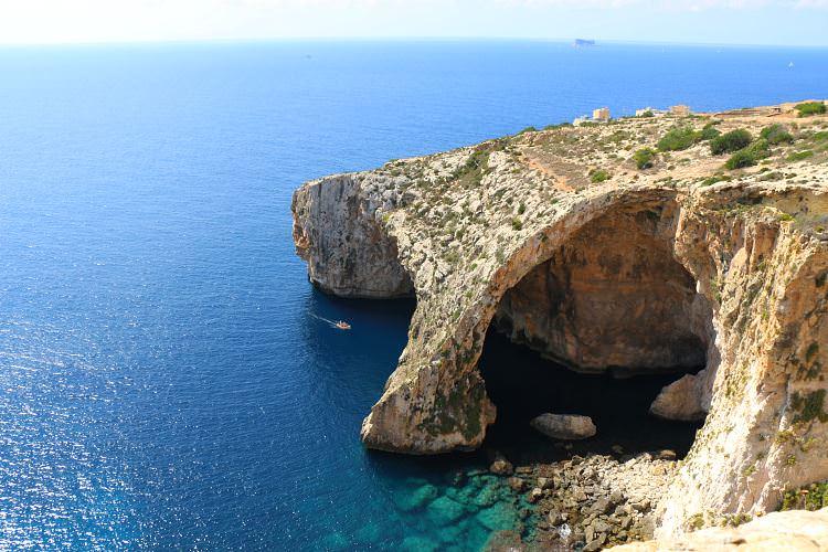 Aussicht Blaue Grotte