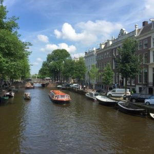 Backpacking in Amsterdam
