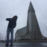 Kirche in Reykjavik