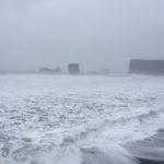 Reynisfjara schwarzer Strand
