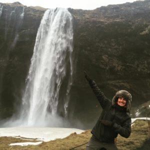 Coole Wasserfälle in Island