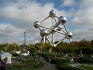 Backpacking in Brüssel