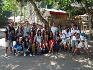 Backpacker, Einheimische und Touristen