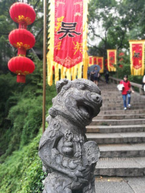 Statue im Tigerhill Tempel