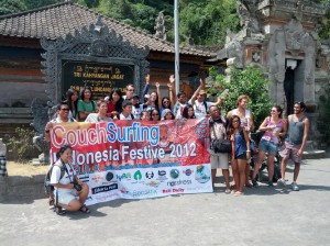 Couchsurfing Festival in Bali