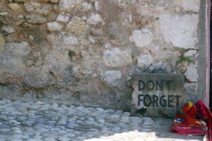 Gedenktafel Mostar