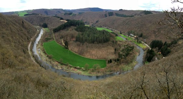 Wandern in Luxemburg - Panorama View