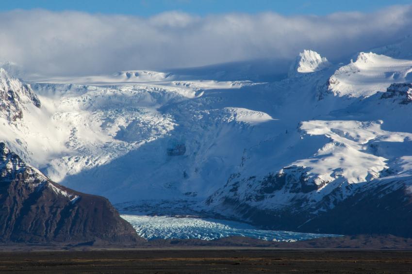 Isländische Gletscher