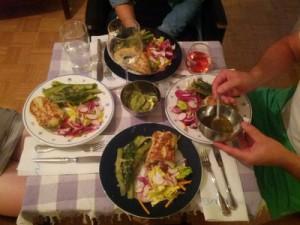 Gastfreundliches Essen