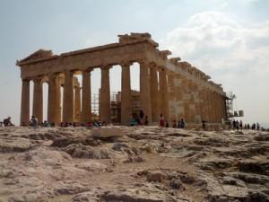 Panthenon in Athen