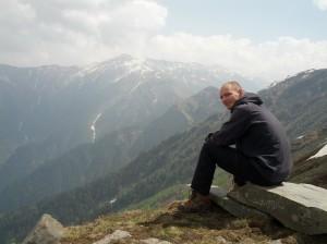 Wanderschuhe in den Himalayas