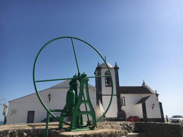 Kirche Cacela Velha Algarve
