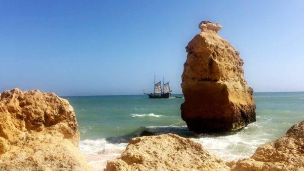 Praia da Marinha Algarve Portugal, 2018