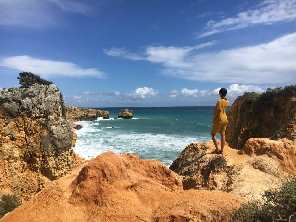 Praia Sao Rafael Algarve Portugal
