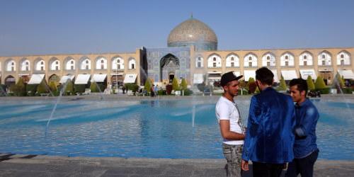 Iran Isfahan Lotfollah