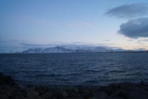 Aussicht von Reykjavik
