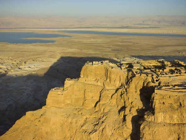 Israel Aerial Masada