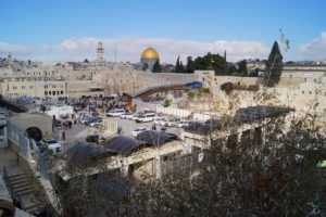 Jerusalem Klagemauer und Moschee