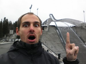 Olympia Sprungschanze in Oslo