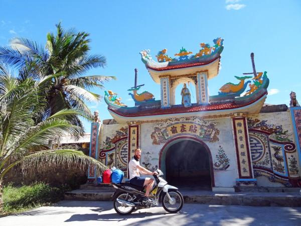 Mit dem Motorrad druch Vietnam