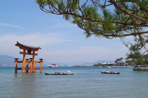 Tempel im Wasser