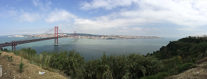 Skyline Lissabon