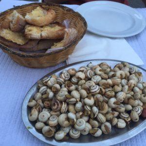 Schnecken essen in Lissabon