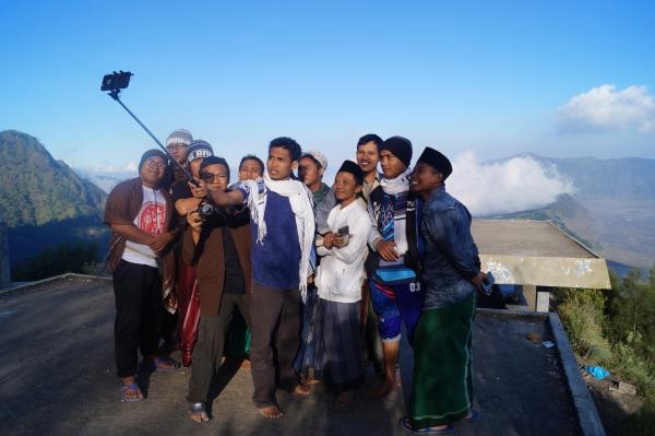 Selfie-Gruppe