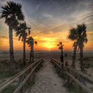 Sonnenuntergang Tarifa