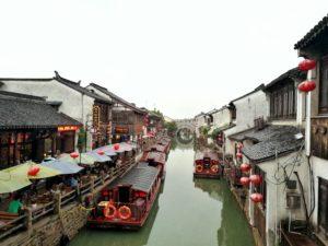 Die Kanäle von Suzhou