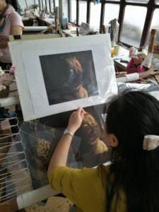 Seidenstickerinnen Suzhou