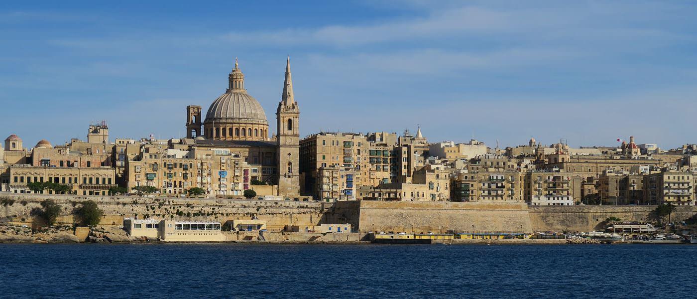 Titelbild Valletta Malta Hauptstadt