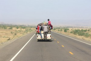 Transport a la Afrika