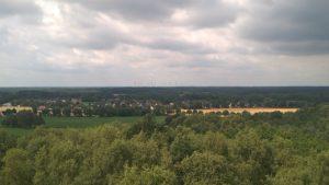 Aussichtsturm Windpark