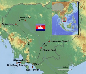 Weltreise_Karte_Kambodscha