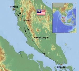 Weltreise_Karte_Malaysia_Singapur