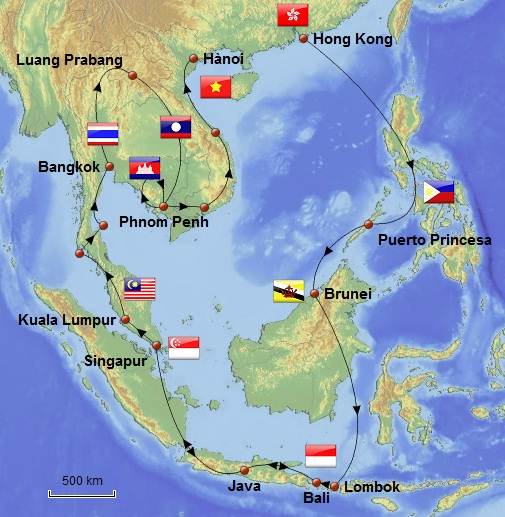 Tour Thailand In  Weeks