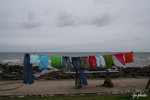 Kleidung waschen