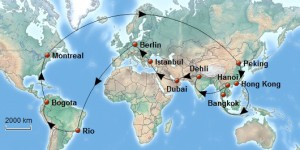 Weltreise_Reiseroute_Weltkarte
