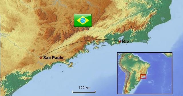 Weltreise_Route_Brasilien