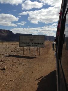 Willkommen in Namibia