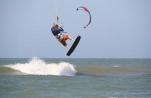 Kite-Surfen ist fast wie Fliegen.