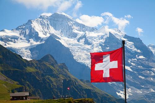 Schweiz Berge
