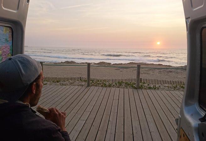 Vanromantik - Sonnenuntergang am Meer